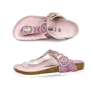 Birkenstock Gizeh Sandals Regular Pink Purple